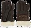 Schwarze UGG Handschuhe SHEEPSKIN LOGO GLOVE - small