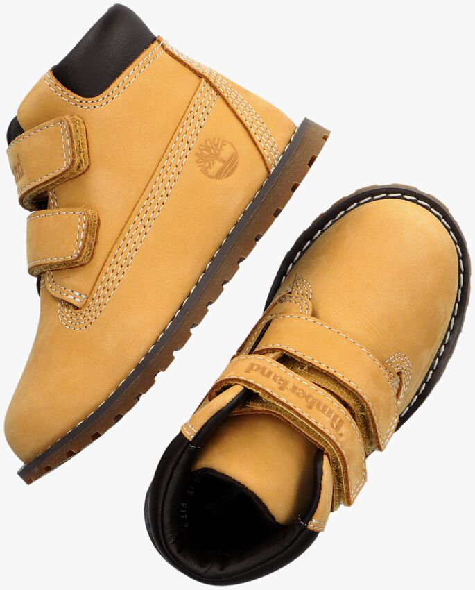 Camelfarbene TIMBERLAND Ankle Boots POKEY PINE H&L - larger