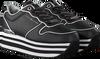 Schwarze TOMMY HILFIGER Sneaker low METALLIC FLATFORM  - small