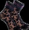 Schwarze MARCMARCS Socken PIZZO FLOWER  - small