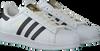 Weiße ADIDAS Sneaker SUPERSTAR HEREN - small