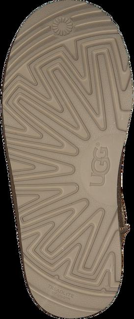 Goldfarbene UGG Ankle Boots CLASSIC SHORT II GLITTER - large