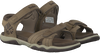 Taupe TIMBERLAND Sandalen OAK BLUFFS LEATHER 2 STRAP KID - small