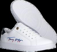 Weiße TOMMY HILFIGER Sneaker low TH SIGNATURE CUPSOLE  - medium
