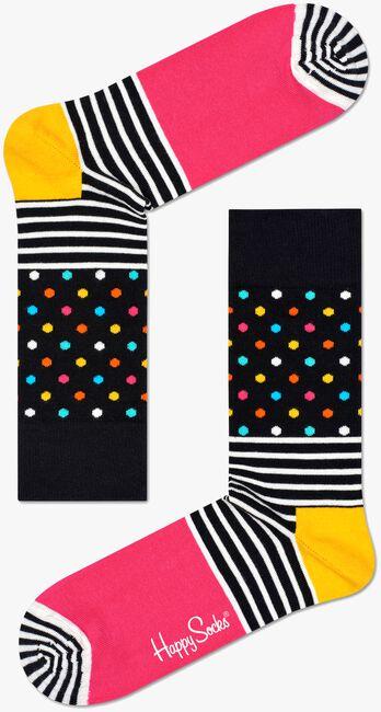 Schwarze HAPPY SOCKS Socken STRIPES & DOT SOCK - large