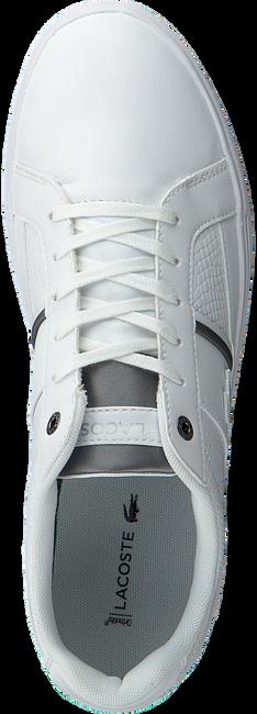 Weiße LACOSTE Sneaker EUROPA - large