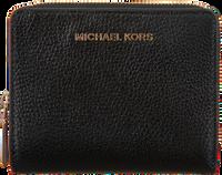 Schwarze MICHAEL KORS Portemonnaie JET SET MD  - medium