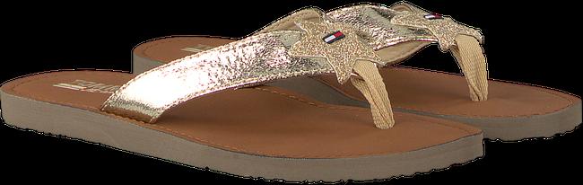 Goldfarbene TOMMY HILFIGER Pantolette GLITTER BEACH SANDAL - large