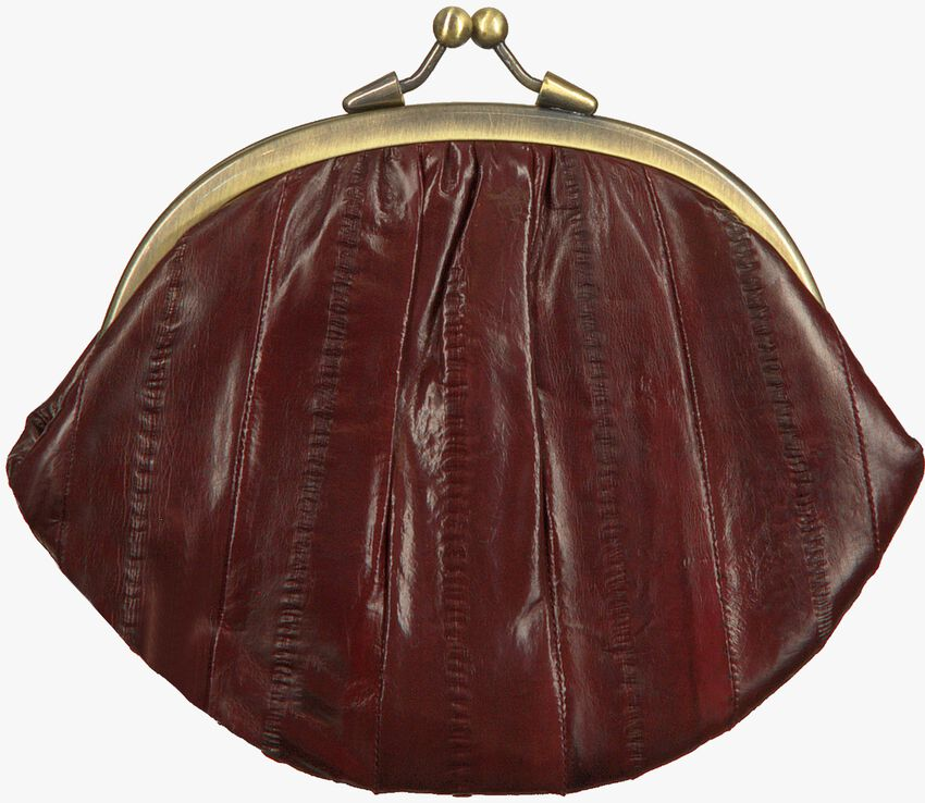Rote BECKSONDERGAARD Portemonnaie GRANNY RAINBOW AW19  - larger