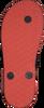 Orangene REEF Pantolette LITTLE STARGAZER - small