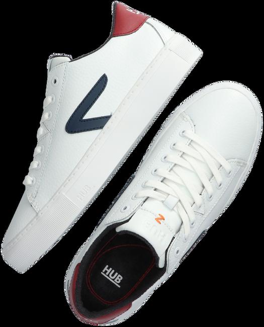 Weiße HUB Sneaker low HOOK-Z  - large