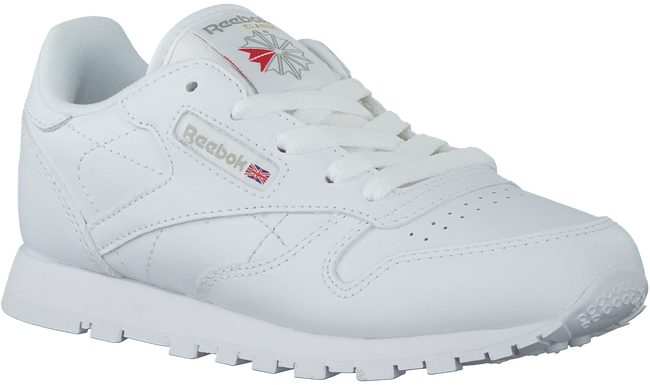 Weiße REEBOK Sneaker CLASSIC LEATHER KIDS - large