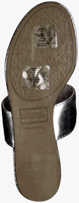 Silberne MICHAEL KORS Zehentrenner D.BECCA - larger