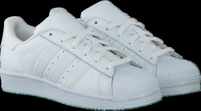 Weiße ADIDAS Sneaker SUPERSTAR FOUNDATION - large