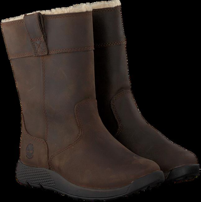 Braune TIMBERLAND Hohe Stiefel METROROAM 8 IN WP PO KIDS - large