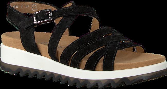 Schwarze GABOR Sandalen 744.3  - large