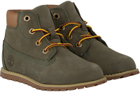 Graue TIMBERLAND Ankle Boots POKEY PINE 6IN BOOT KIDS - medium