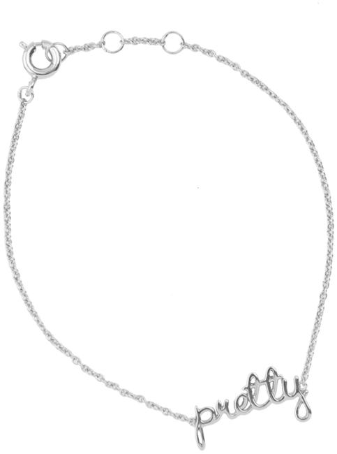 Silberne ALLTHELUCKINTHEWORLD Armband URBAN BRACELET PRETTY - large