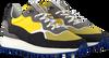 Gelbe FLORIS VAN BOMMEL Sneaker low 16301  - small