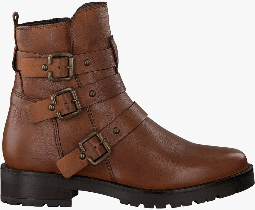 Cognacfarbene OMODA Ankle Boots 44519  - larger