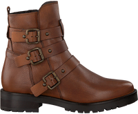 Cognacfarbene OMODA Ankle Boots 44519  - medium