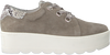 Taupe ROBERTO D'ANGELO Schnürschuhe 605  - small