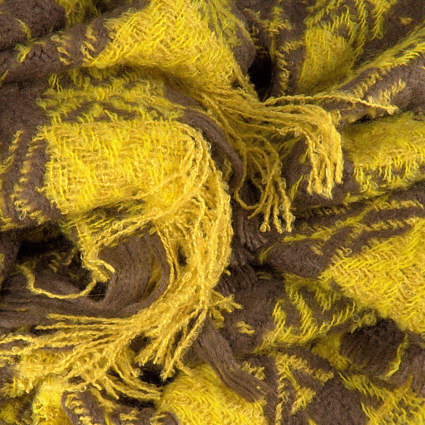 Gelbe NOTRE-V Schal CYNTHA  - larger