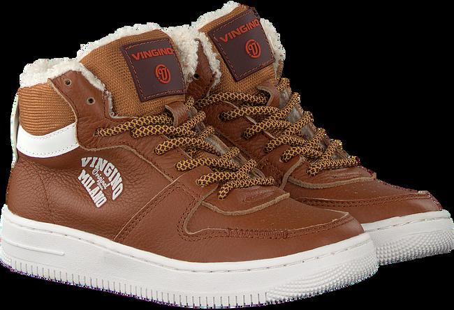 Cognacfarbene VINGINO Sneaker ELIA MID  - large
