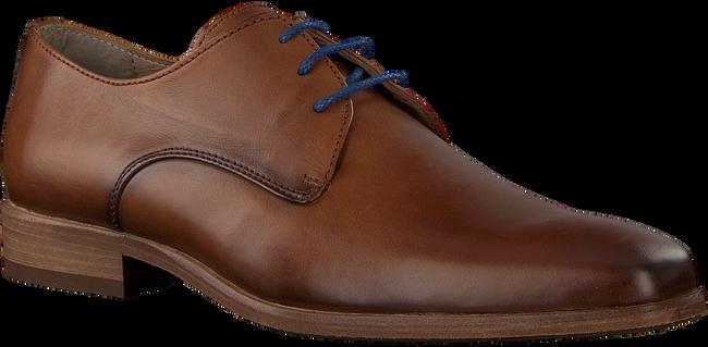 Cognacfarbene BRAEND Business Schuhe 16086  - large