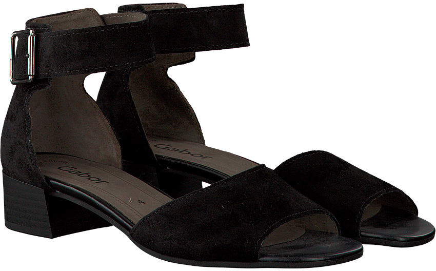 Schwarze GABOR Sandalen 723 - larger