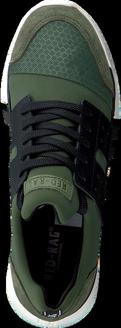 Grüne RED-RAG Sneaker low 13447  - large