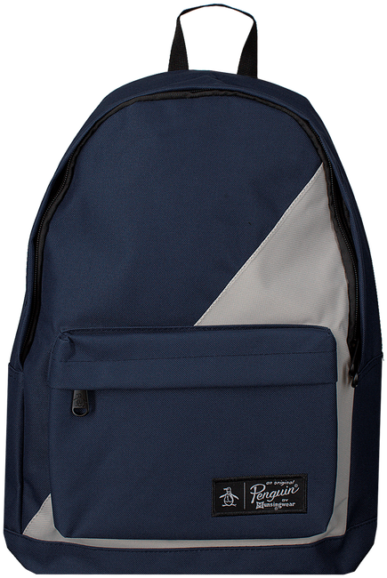 Blaue ORIGINAL PENGUIN Rucksack HOMBOLD BLOCK BACKPACK - large