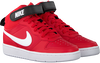 Rote NIKE Sneaker high COURT BOROUGH MID 2 (GS)  - small