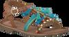 Blaue GIOSEPPO Sandalen NAMBA - small