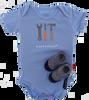 Blaue SHOESME Babyschuhe ROMPER - small
