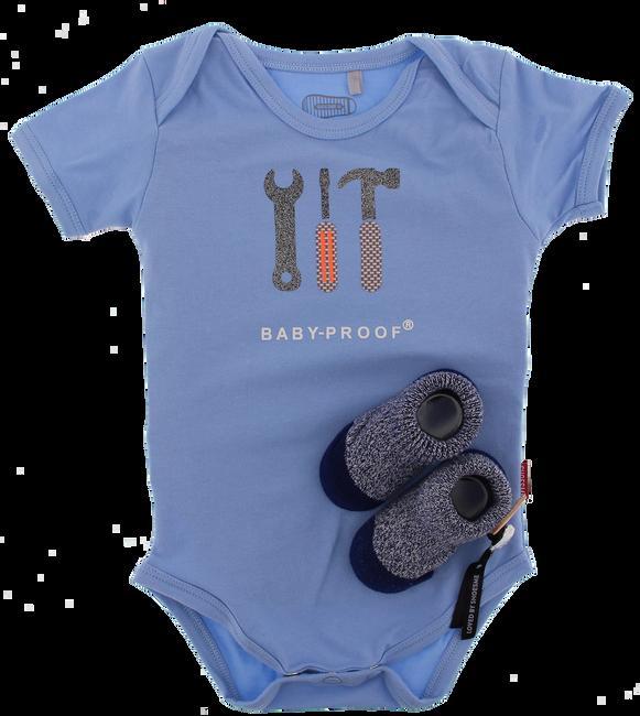 Blaue SHOESME Babyschuhe ROMPER - large