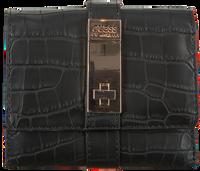 Schwarze GUESS Portemonnaie ASHER SLG SMALL TRIFOLD  - medium