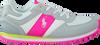 Graue POLO RALPH LAUREN Sneaker SLATON KIDS - small