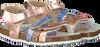 Goldfarbene DEVELAB Sandalen 48222 - small