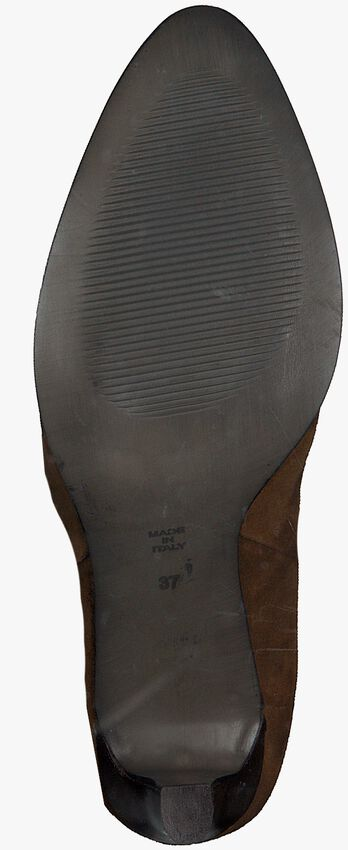 Cognacfarbene NOTRE-V Stiefeletten 27488  - larger