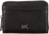Schwarze MICHAEL KORS Portemonnaie ZA COIN CARD CASE  - small