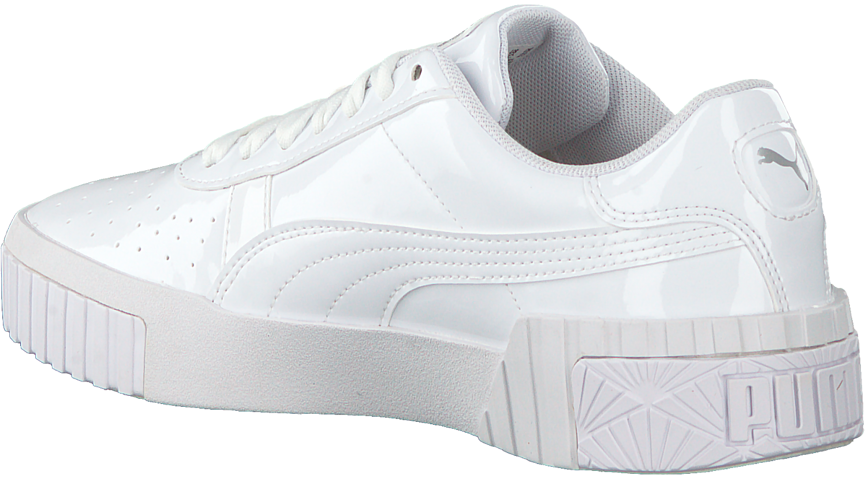 Weiße PUMA Sneaker low CALI PATENT JR | Omoda.at