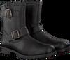 Schwarze CLIC! Biker Boots 8383 - small