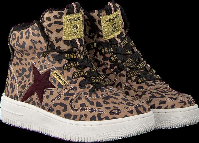 Braune VINGINO Sneaker LOTTE MID  - large