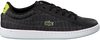 Schwarze LACOSTE Sneaker CARNABY EVO 118 1 SPC - small