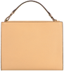 Camelfarbene MICHAEL KORS Handtasche GEMMA MD POCKET TH SATCHEL  - small