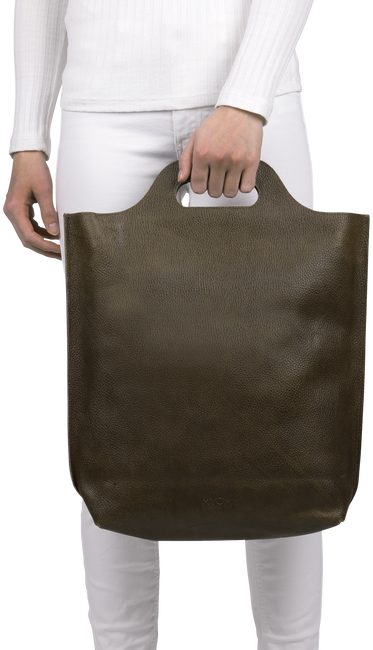 Braune MYOMY Handtasche CARRY SHOPPER - large