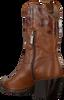 Cognacfarbene NOTRE-V Stiefeletten A1360  - small