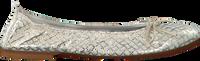 Silberne CLIC! Ballerinas 7290 - medium