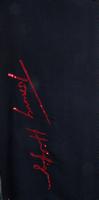 Schwarze TOMMY HILFIGER Schal SIGNATURE SEQUINS SCARF  - medium
